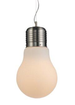 Glashängeleuchte Hängelampe Deckenlampe Handgefertigt Pendelleuchte Weiß