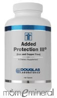 Added Protection III No Copper 180 Tablets by Douglas Labs