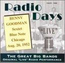 Radio Days Blue Note - Chicago - August 20, 1952