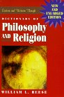 Dictionary of Philosophy and Religion: Eastern and Western Thought (0391038656) by William L. Reese