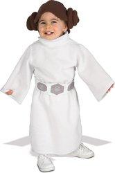 [Star Wars Princess Leia Fleece Infant / Toddler Costume PROD-ID : 1436289] (Princess Leia White Robe)