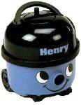Numatic HVR200-22 Blue Henry Bagged Cylinder Vacuum Cleaner, 1200w