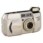 Nikon Lite Touch 150 Zoom ED/QD Date 35mm Camera