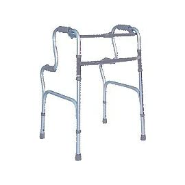 Tuffcare Rising Walker, 1 Button, Aluminum, Adj.