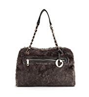 Per Una Faux Fur Tote Bag