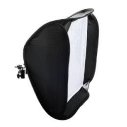 Phottix Easy-Folder softbox kit 80X80cm Diffusore universale per flash camera e flash studio