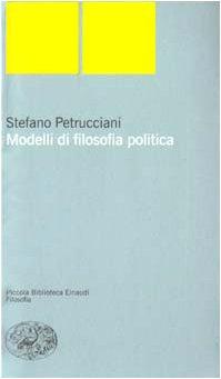 Modelli di filosofia politica PDF