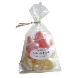 Wedding Favor -Bath Bead Heart, Pink (Bag of 20)