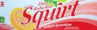 Diet Ruby Red Squirt 2/12 Packs 12 Ounce Cans (Ruby Red Squirt Soda compare prices)