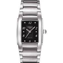 Tissot T-10 Black Dial Stainless Steel Ladies Watch Ladies Watch T0733101105701