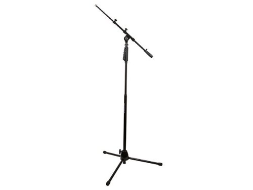 Monoprice 602530 Microphone Stand with Hand-Clutch and Telescopic Boom