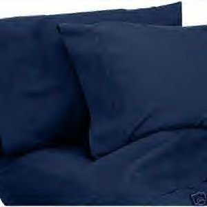 Christopher Adams 1600 Thread Count Queen Size Sheet Set in Navy