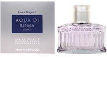 Aqua Di Roma Profumo Uomo di Laura Biagiotti - 75 ml Eau de Toilette Spray