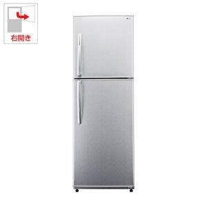 ユーイング 228L 2ドア冷蔵庫(スパークリングシルバー)【右開き】UING UR-F230H-S