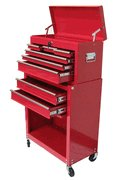 Roller Metal Tool Chest - 2 Pieces