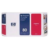 Ink cartridge n°80 magenta 175ml (C4874A) HP C4871A