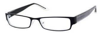 Marc By Marc JacobsMarc by Marc Jacobs MMJ556 Eyeglasses-0MBY Black White/Crystal-51mm