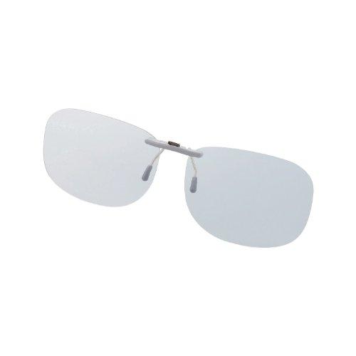 Elecom Blue Light measures Glasses PC GLASSES (47% cut) (clip-on type ? L size) OG-CBLP01GYL (Elecom Blue Light compare prices)