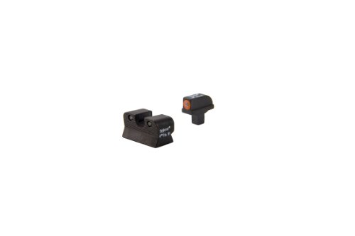 Colt Trijicon 1911 Cut Hd Front Outline Night Sight Set, Orange