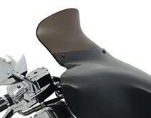 Memphis Shades 9 Smoke Batwing Fairing Spoiler Windshield (ZZ 2350-0170)