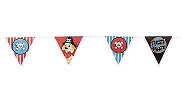 "Cardboard ""First Mate"" Pennant Banner"