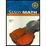 Saxon Math, Course 1, Student Edition