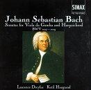 Sonatas for Viola De Gamba & Harpsichord