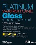 Fotospeed PLATINUM Gloss WT 290gsm 60 Roll 15mtr.