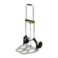 Safco Products Company Products - Hand truck, Stow-Away, 275 lb. Capacity, 19-1/2