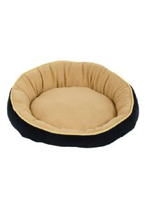 Bed Round W/ Eliptical Bolster Asst 18""