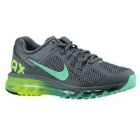 Nike Womens Air Max+ 2013 555363 437 grey/green size 7.5 (Air Max Shoes 2013 compare prices)