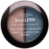 L'Oreal Hip High Intensity Pigments Concentrated Eye Shadow Duo, 2.4 g/ 208 Sassy.
