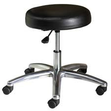 """HON Company : Medical Exam Stool,w/o Back,24-1/4""""x27-1/4""""x22"""",Black -:- Sold as 2 Packs of - 1 - / - Total of 2 Each"""