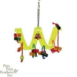 Prevue-Hendryx Bird Toys Acrylic Ribbon Curl