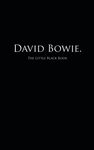 David Bowie.: The Little Black Book