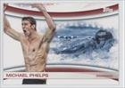 Michael Phelps (Trading Card) 2012 Topps U.S. Olympic Team and Olympic Hopefuls Games of the XXX Olympiad #OLY-18