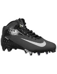 Nike Vapor Talon Elite 3/4 TD Men's Molded Football Cleats (16) Black