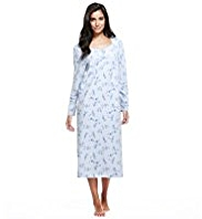 Floral Fleece Nightdress