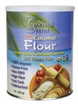 Coconut Secret Raw Coconut Flour (Gluten Free), 16 Ounce Canister