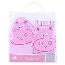 Just Born Bath Gift Set - Pink front-329108