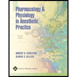 img - for Pharmacology and Physiology in Anesthetic Practice by Stoelting MD, Robert K., Hillier MBChB FRCA, Simon C.. (Lippincott Williams & Wilkins,2005) [Hardcover] Fourth (4TH) Edition book / textbook / text book