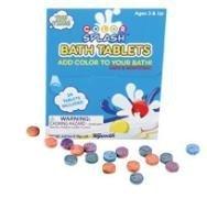 Toysmith 10 Packs of Color Splash Fizzy Tablets for Splash Time