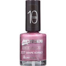 Rimmel Lycra Wear 10 Days Nail Polish - 307 Grape Sorbet