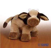 Webkinz Plush Stuffed Animal Brown Cow