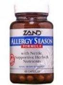 Zand Allergy Season Formula -- 60 Vegetarian Capsules