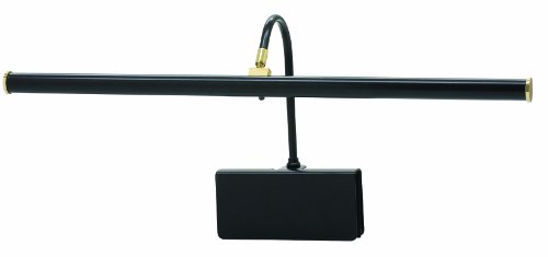 House Of Troy Gpled19-7 Grand Piano 19-Inch Portable Led Lamp, Black