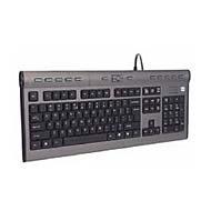 Ultra Slim Multimedia Keyboard Soft Touch 13 Hot Keys USB