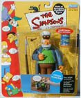 The Simpsons World of Springfield Captain McCallister Series 5