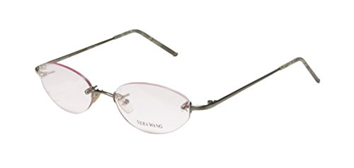 vera-wang-v07-womens-ladies-rx-able-celebrity-style-designer-rimless-eyeglasses-glasses-46-17-135-br