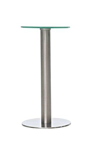 CLP-runder-Glas-Tisch-MARIDA-mit-Edelstahl-Gestell-Durchmesser--30-cm-Hhe-60-cm-Tischplatte-aus-Sicherheitsglas-milchglas
